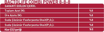 BACTOLIFE COMBI POWER 8-8-8