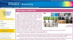 European Commission Research Biosociety-FERTILISER ALTERNATIVES